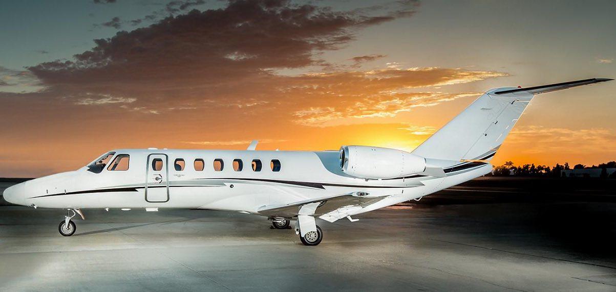 Schubach_Aviation_CJ3_Sunset_Full