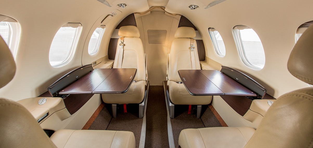 Schubach_Aviation_Phenom_100_Cabin_View