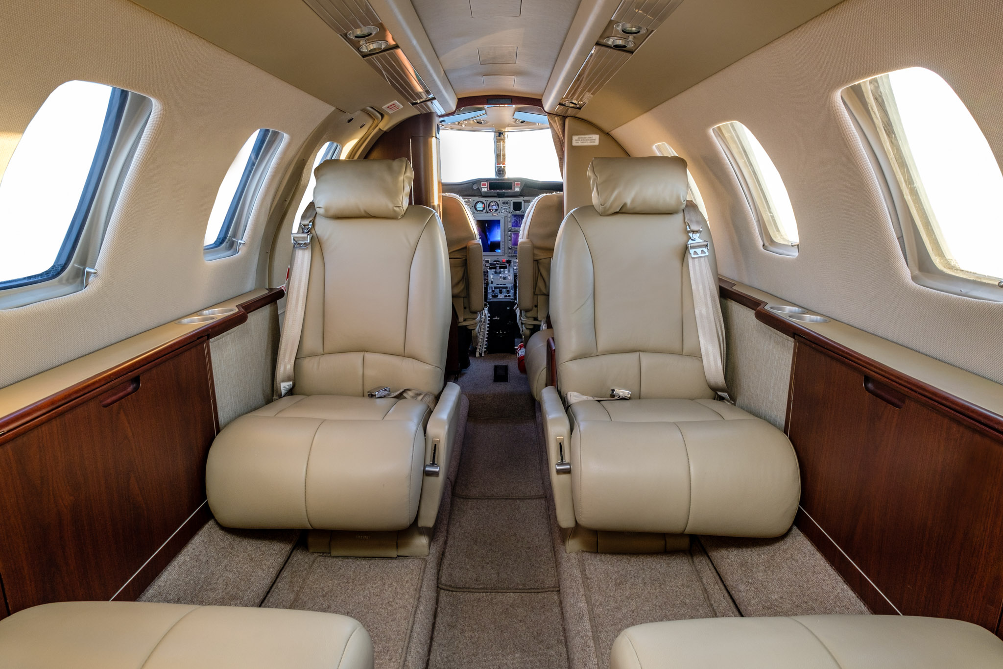 Private Charter Jet Main Cabin