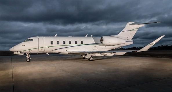 San Diego Jet Charter Challenger 350 Full Plane